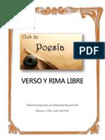 Verso y Rima Libre - Alejandra Riquelme V.