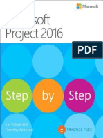 Microsoft Project 2016 Step by Step Unlimited