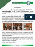 Boletín Foro Sustentabilidad UTN 13032019
