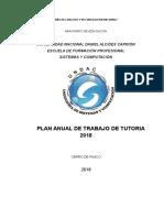 Plan de Consejería UNDAC 2018