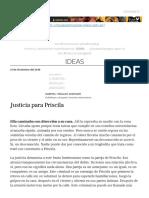 Justicia Para Priscila _ Plan V