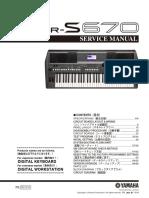 Yamaha Psr-s670 Sm