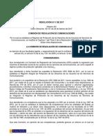 Resolucion 5111 de 2017