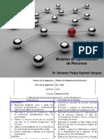 Modelos Para La Planeación, Programación y Control de Proyectos