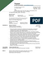stevens rws resume