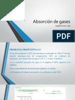 Absorción de Gases
