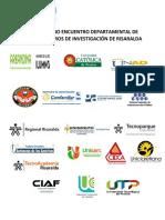 Convocatoria Ix Encuentro de Semilleros Risaralda 2019