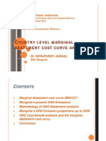 Country Level Marginal Abatement Cost Curve Analysis