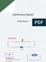 Listrik Arus Searah
