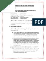 Informe Parcial Del Proyecto Empresarial -Kc. 2016