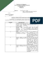 Formal Offer of Evidence_Plaintiff
