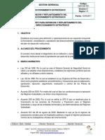 GER-De-P01 Proceso Defincion y Replanteamiento Estrategico