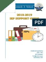 2018-19 iep procedure manual