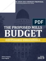 The Proposed Mills Budget
