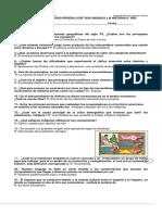 Cuestionario de Estudio Prueba Coef Dos Unidad i y II Historia 8