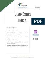 Diagnostico Inicial Historia 8basico