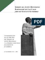 TEXTO DEL SERMÓN DE ADVIENTO DE FRAY ANTÓN MONTESINO