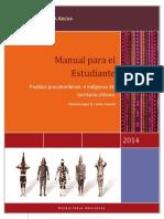 Manual Para El Estudiante. Pueblos Precolombinos Del Territorio Chileno.