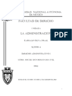 D.administrativo Unidad 1 Fac de Derecho UNAM