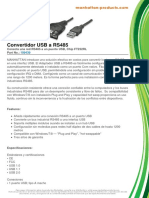 Datasheet cable rs485