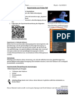 Arbeitsblatt Phyphox