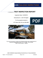 271 Swann Road - Pest Inspection