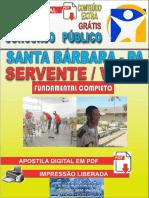 Apostila digital SANTA BARBARA 2019 - SERVENTE E VIGIA.pdf