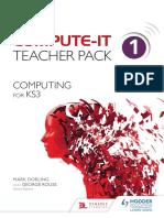 ComputeIT Teacher-Pack Sample