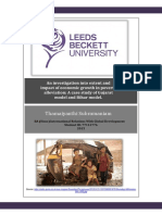 An investigation into extent and impact of economic growth in poverty alleviation
