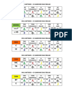 SHU ANTIGOS - Tabela