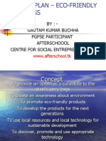 BUSINESS PLAN – ECO-FRIENDLY CARRY BAGS