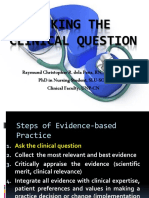 EBN_asking the ClinicAL QUESTION 2019
