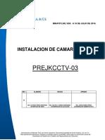 Prejkscctv-02. Instalacion de Camara
