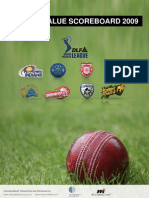 469-IPL Brand Value Scoreboard 2009 Report