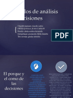 Tema 2 Modelos de Análisis de Decisiones Diapos