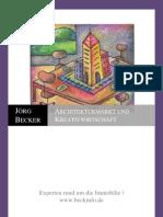 Architekturmarkt Und Kreativwirtschaft
