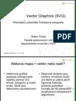 Počítačová kartografie - SVG v kartografii