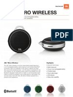Specification Sheet - Micro Wireless With Colors (English)