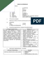 ESQUEMA DE LA I UNIDAD DE AREDIZAJE -MATEMATICA-4TO grado primaria.docx