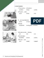 Language Log 1 Final Grammar and Vocabulary Assessment