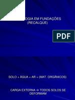 PATOLOGIA EM FUNDAÇÕES (RECALQUE).pdf