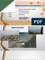Analisis Del Borde Costero de Zorritos