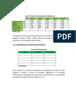 Ejemplo de Datos - Bentos