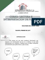 Diapositivas Del Curso de Lectura e Interpretacion de Planos