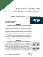 Comunidades Liquénicas Como