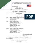Buczek 20070212 Full Settlement & Closure Hockey Game Case