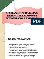 ASUHAN KEPERAWATAN KLIEN DALAM PROSES MENJELANG KEMATIAN.pptx