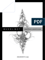 MusicLight Boletín 03 (Agosto 2010)