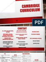Cambridge Curriculum