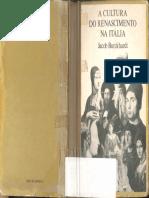 A Cultura do Renascimento na Itália (Jacob Burckhardt).pdf